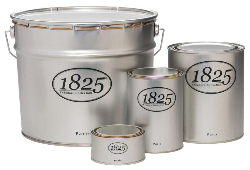 1825 acryl mat 1l peinture de finition haut de gamme pour travaux soign s id ale murs. Black Bedroom Furniture Sets. Home Design Ideas