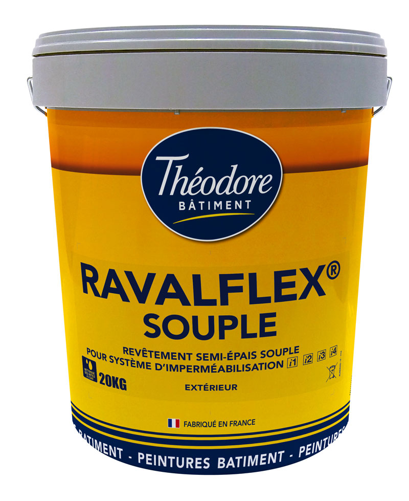 ravalflex souple 20kg rev tement souple pour syst me d. Black Bedroom Furniture Sets. Home Design Ideas