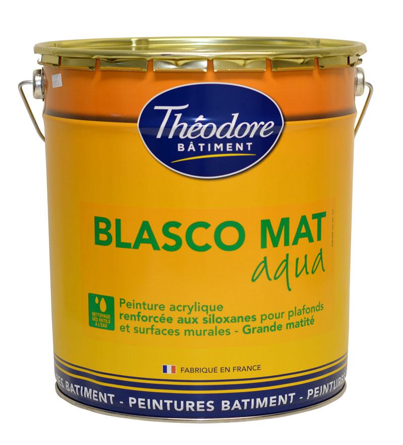 Peinture acrylique forte matit recommand e pour les plafonds dans toute la maison blasco mat - Peinture plafond pour faineant ...