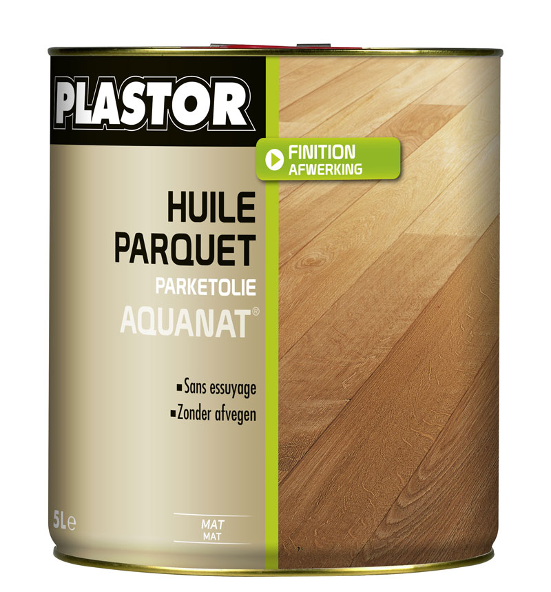huile parquet aquanat plastor 5l huile parquet phase aqueuse pour prot ger en conservant l. Black Bedroom Furniture Sets. Home Design Ideas