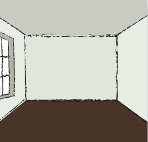 comment modifier les volumes d 39 une pi ce en jouant sur les couleurs vente en ligne peinture. Black Bedroom Furniture Sets. Home Design Ideas