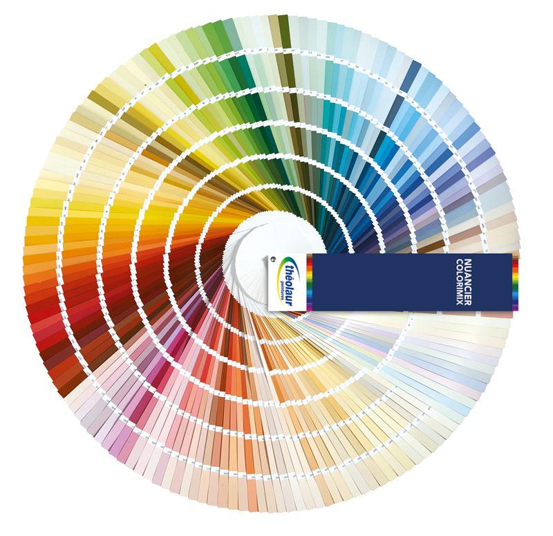 Nuancier Colorimix 950 teintes