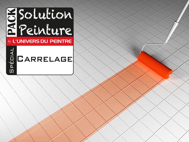 Pack Solution Peinture Pour Peindre Son Carrelage Cuisine Ou Salle De Bain    Economisez 10%