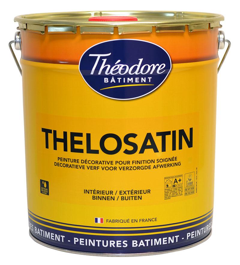 Peinture Intérieur Et Extérieur Thelosatin 15L. Idéale Cuisine, Salle De  Bain, Murs Chambre