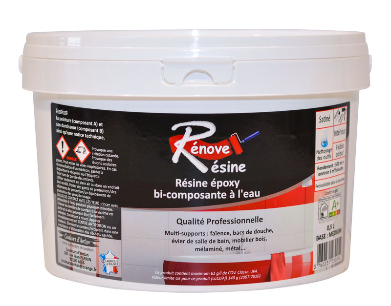Resine Coloree Multisupport Renove Resine 0 5l Ideale Carrelage