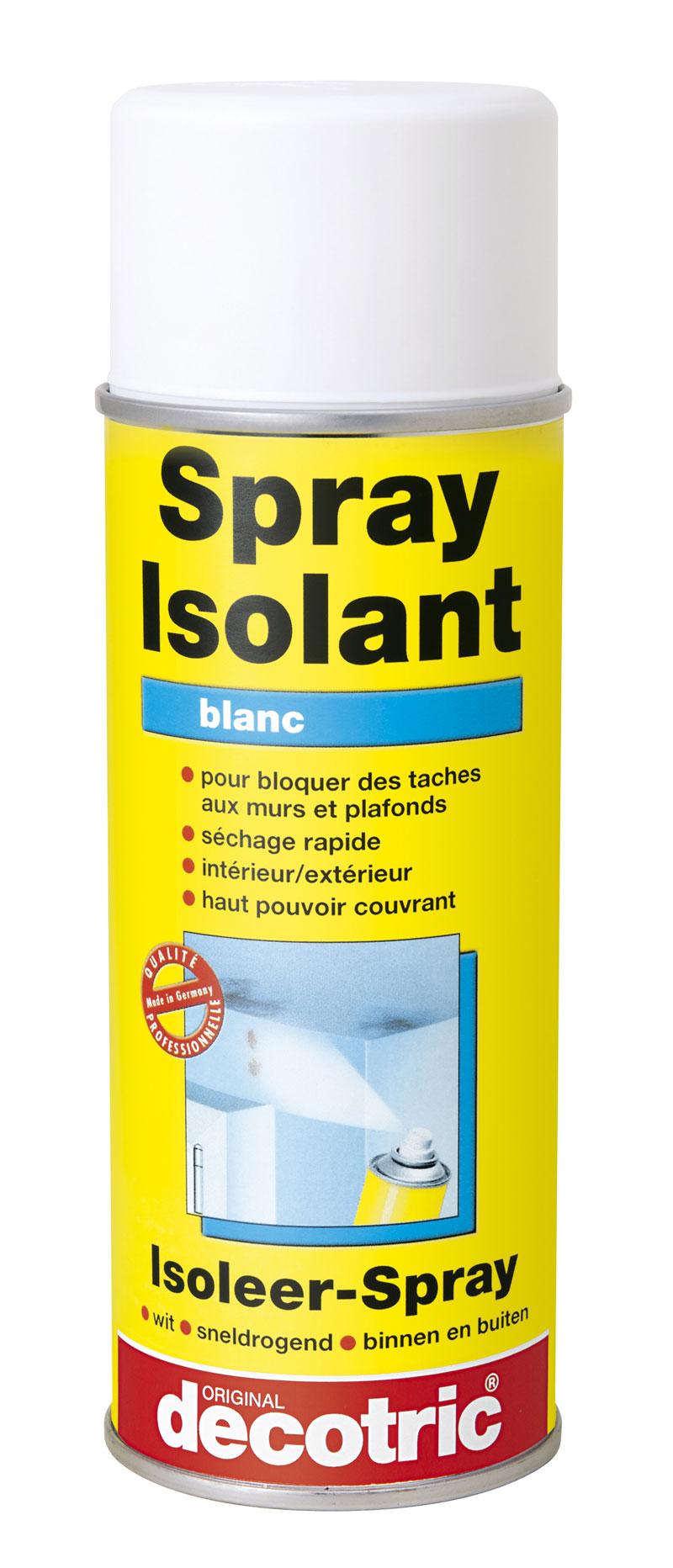 Spray isolant pour masquer les t ches 400ml avant mise - Peinture pour mur de garage ...