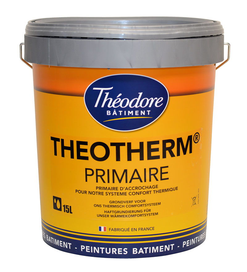 theotherm primaire (15l) : peinture primaire murs et façades avant ... - Primaire D Accrochage Peinture Plafond