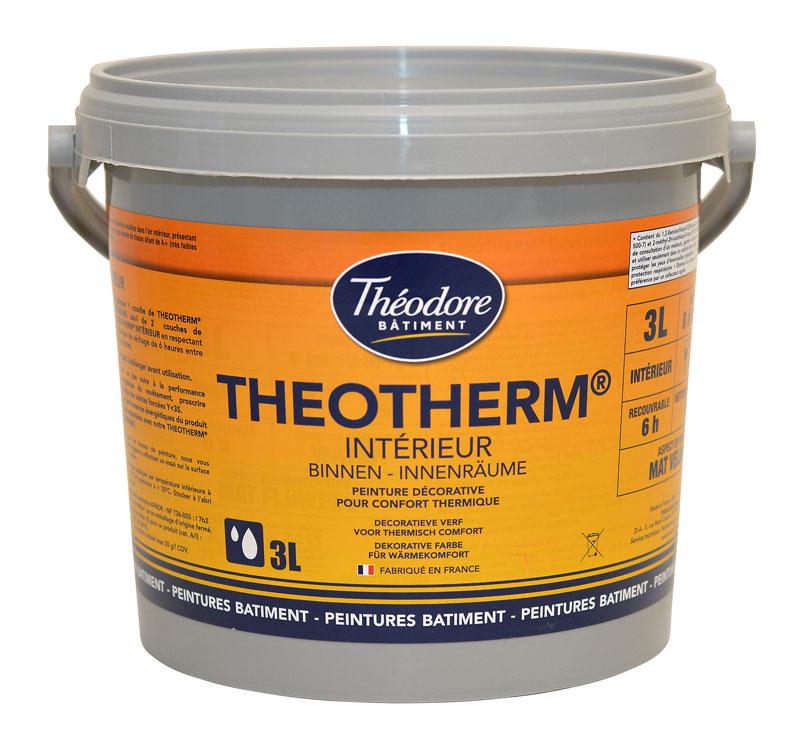 Peinture isolante thermique int rieure velours pour murs for Peinture acrylique pour mur interieur