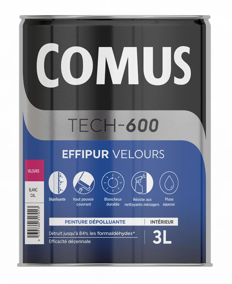 Comus Effipur Velours 3l Peinture Depolluante Mur Et Plafond Pour Ameliorer La Qualite De L Air Interieur