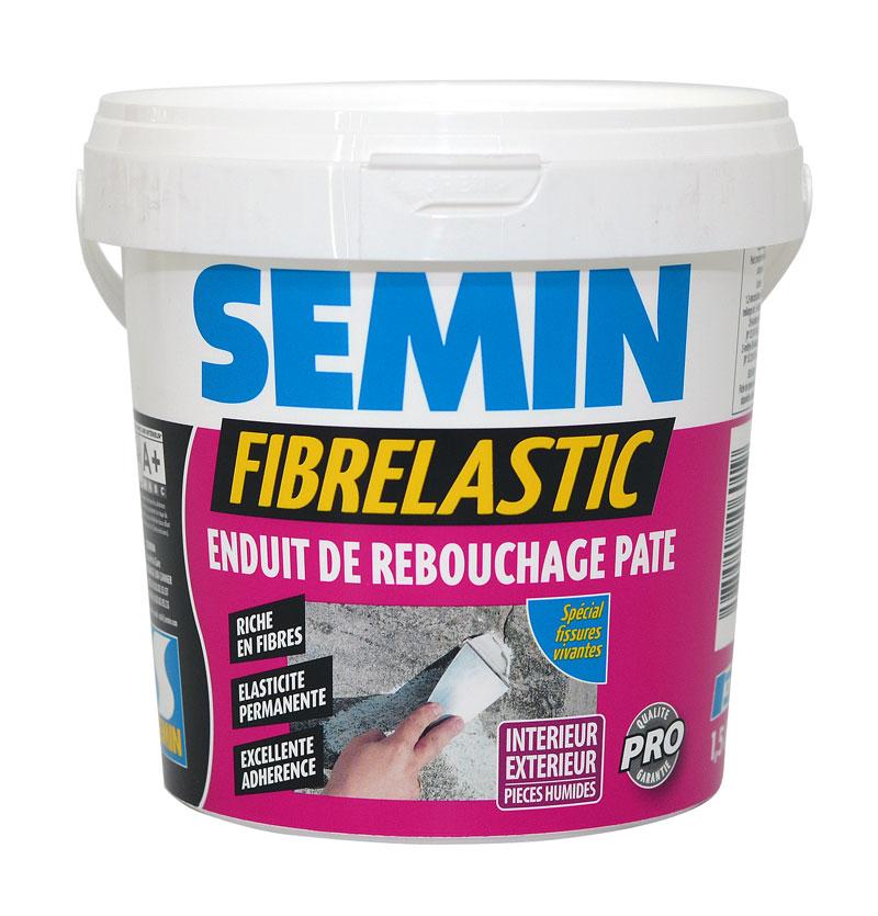 Enduit De Rebouchage Fibr Et Souple Fibrelastic Semin Kg