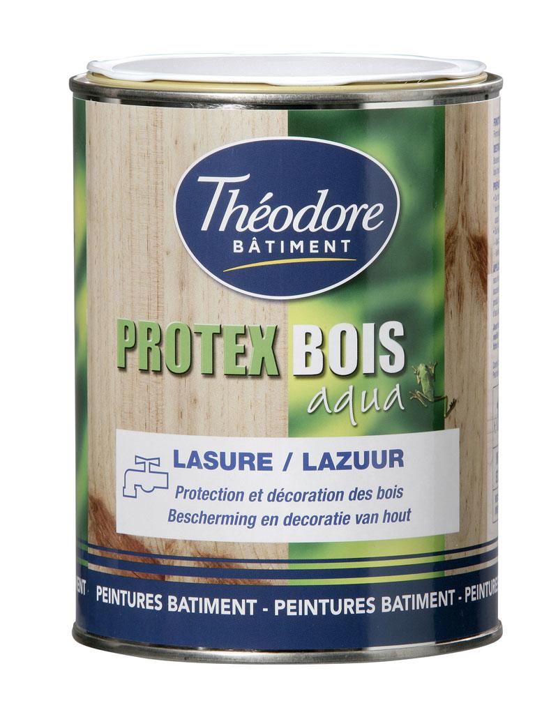 Lasure En Phase Aqueuse Pour La Protection Et La Décoration Des Bois  Intérieurs Et Extérieurs Protex