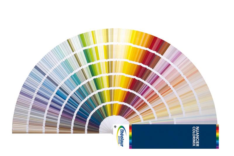 Nuancier Couleur Des 950 Teintes De Peinture Colorimix
