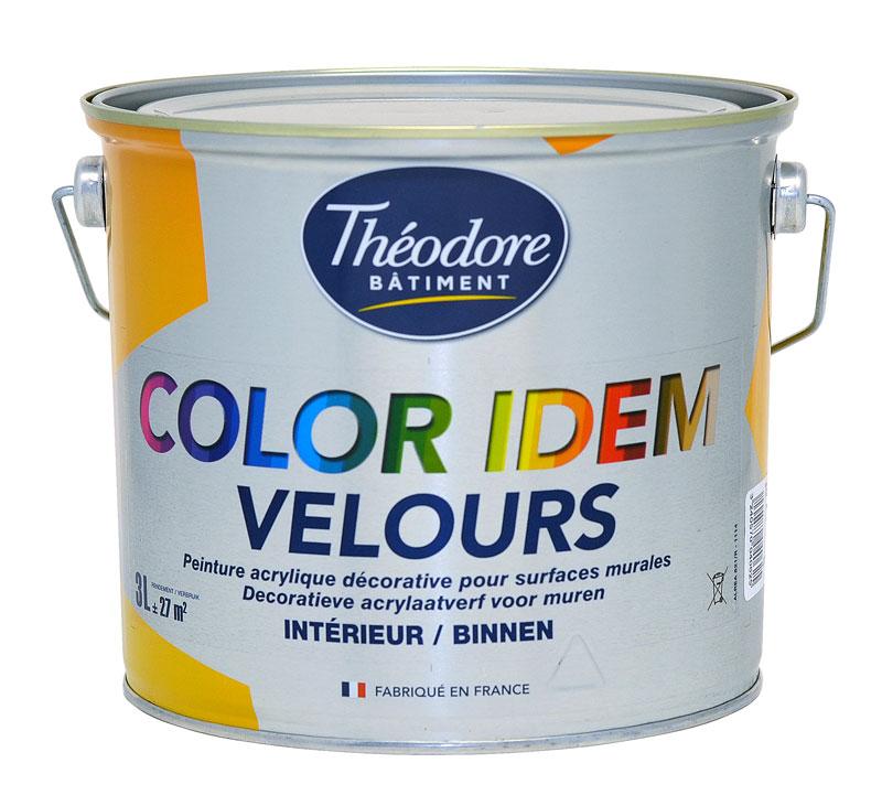 Peinture Acrylique Velours Pour Surfaces Murales Chambre Et Salon