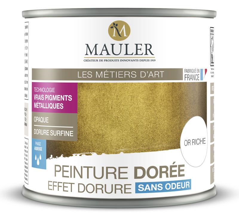 Peinture Metallique Effet Or Riche Cuivre Argent Ou Aluminium 0 5l Interieur Et Exterieur Sans Odeur
