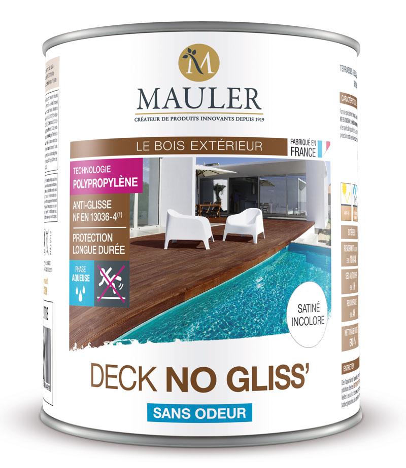 protection pour les bois de terrasse escalier et abords de piscine anti glisse mauler deck no. Black Bedroom Furniture Sets. Home Design Ideas